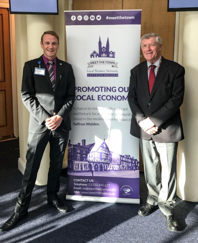 James de Vries and Richard Freeman